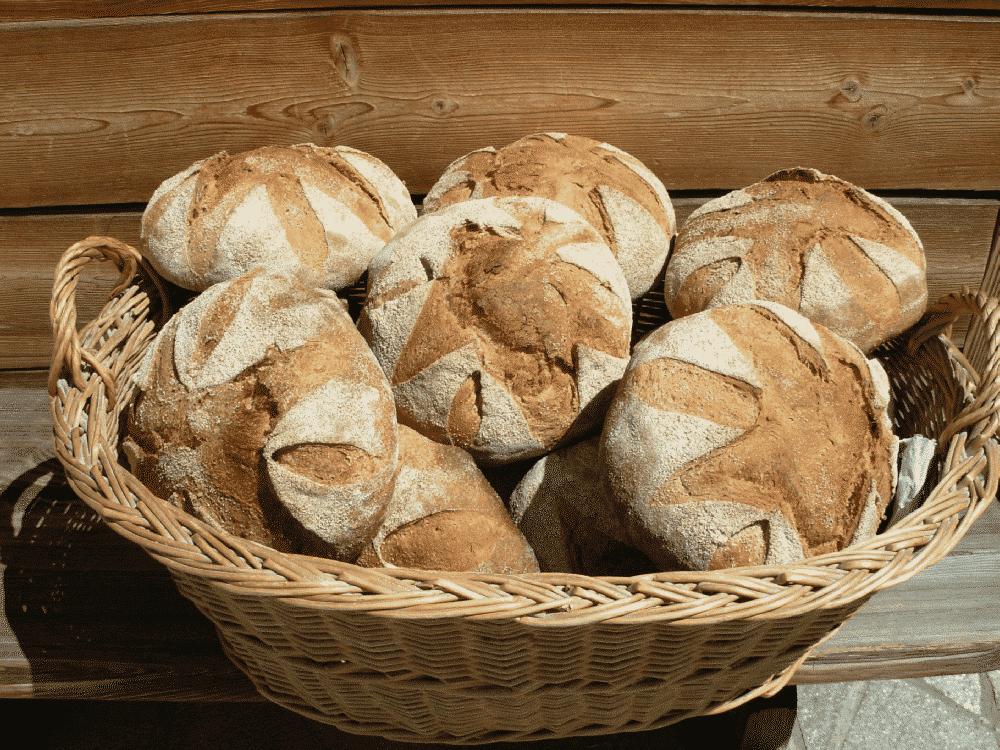 Marc Haller, pain au levain, cuit au feu de bois
